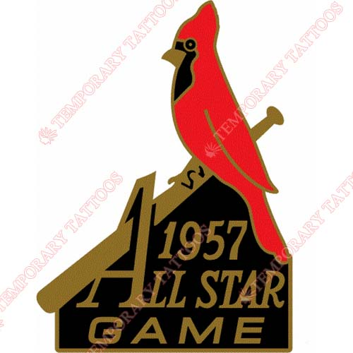 MLB All Star Game Customize Temporary Tattoos Stickers NO.1312