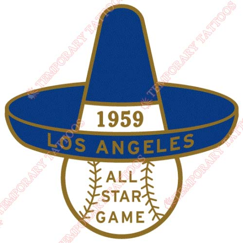 MLB All Star Game Customize Temporary Tattoos Stickers NO.1314
