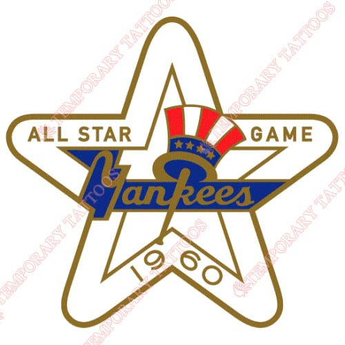MLB All Star Game Customize Temporary Tattoos Stickers NO.1315