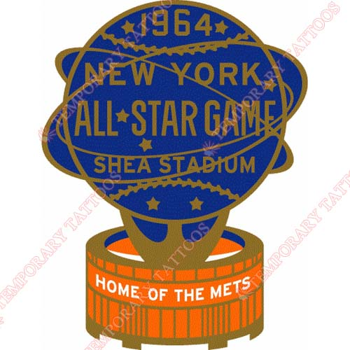 MLB All Star Game Customize Temporary Tattoos Stickers NO.1321