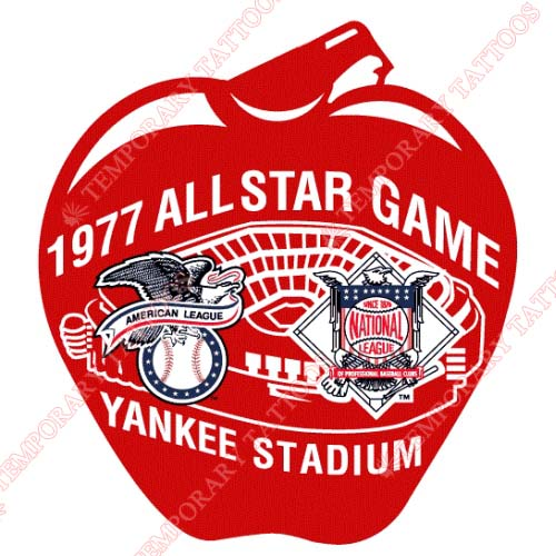 MLB All Star Game Customize Temporary Tattoos Stickers NO.1334