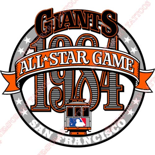 MLB All Star Game Customize Temporary Tattoos Stickers NO.1341