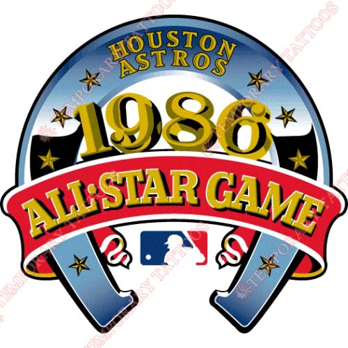 MLB All Star Game Customize Temporary Tattoos Stickers NO.1343