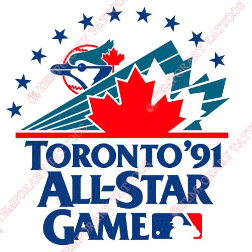 MLB All Star Game Customize Temporary Tattoos Stickers NO.1348
