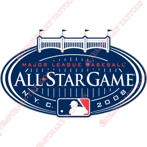 MLB All Star Game Customize Temporary Tattoos Stickers NO.1365