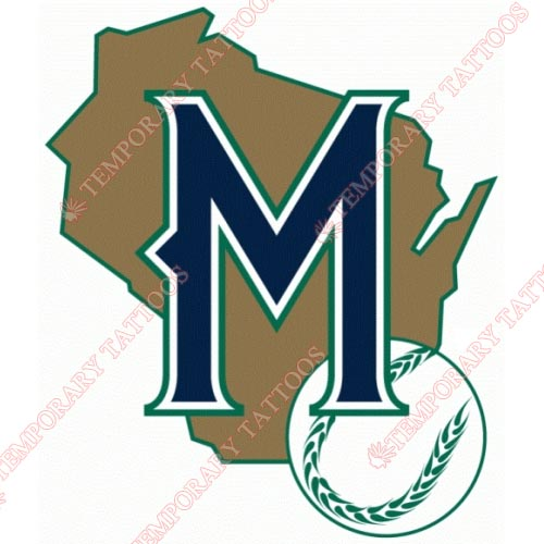Milwaukee Brewers Customize Temporary Tattoos Stickers NO.1703