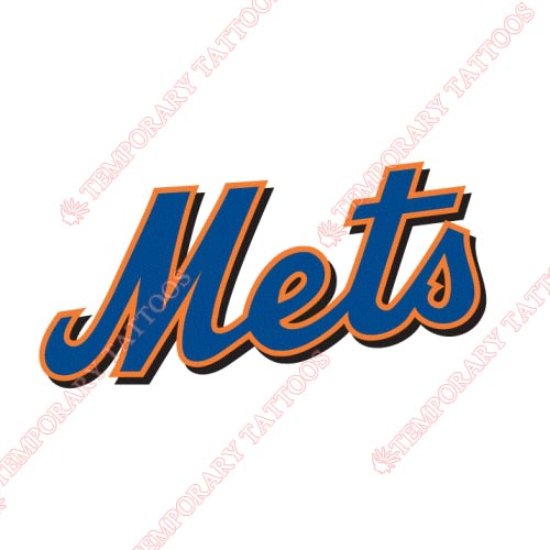 New York Mets Customize Temporary Tattoos Stickers NO.1750