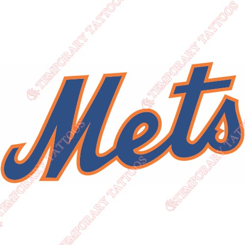 New York Mets Customize Temporary Tattoos Stickers NO.1751
