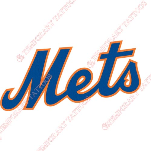 New York Mets Customize Temporary Tattoos Stickers NO.1753