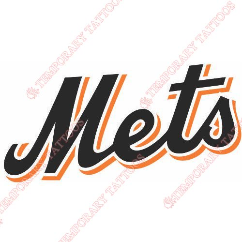 New York Mets Customize Temporary Tattoos Stickers NO.1756