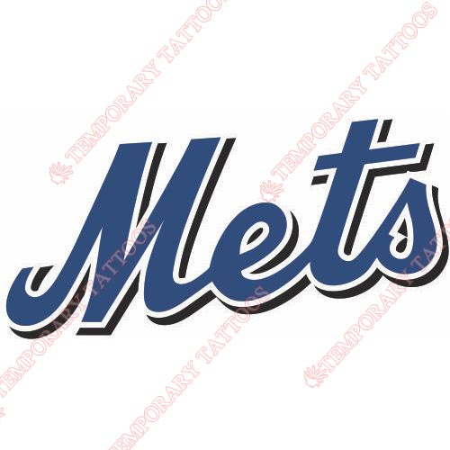 New York Mets Customize Temporary Tattoos Stickers NO.1757