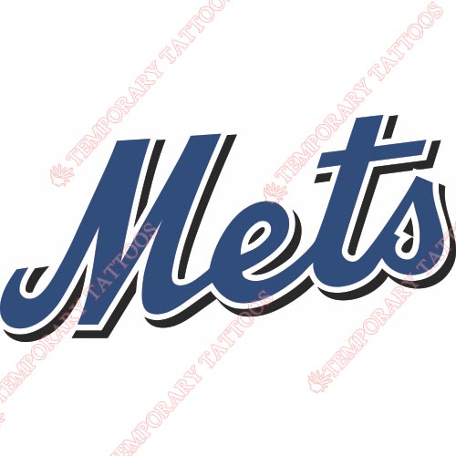 New York Mets Customize Temporary Tattoos Stickers NO.1759