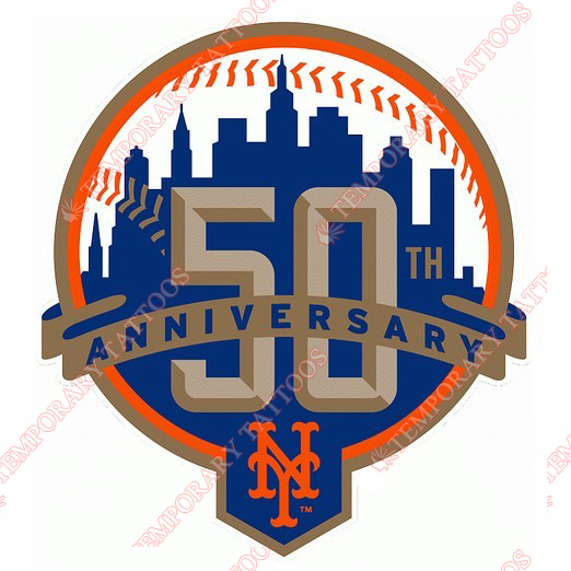 New York Mets Customize Temporary Tattoos Stickers NO.1763