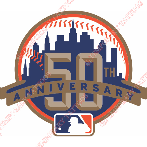 New York Mets Customize Temporary Tattoos Stickers NO.1764