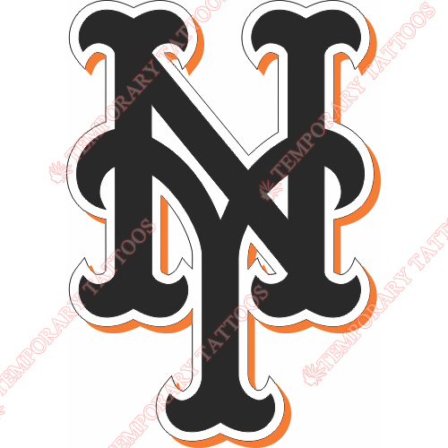 New York Mets Customize Temporary Tattoos Stickers NO.1766