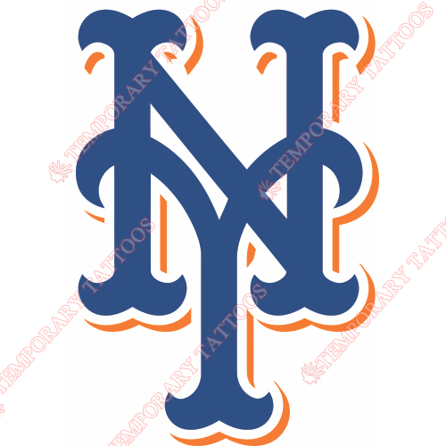 New York Mets Customize Temporary Tattoos Stickers NO.1767