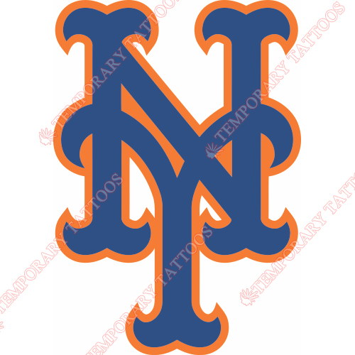 New York Mets Customize Temporary Tattoos Stickers NO.1768