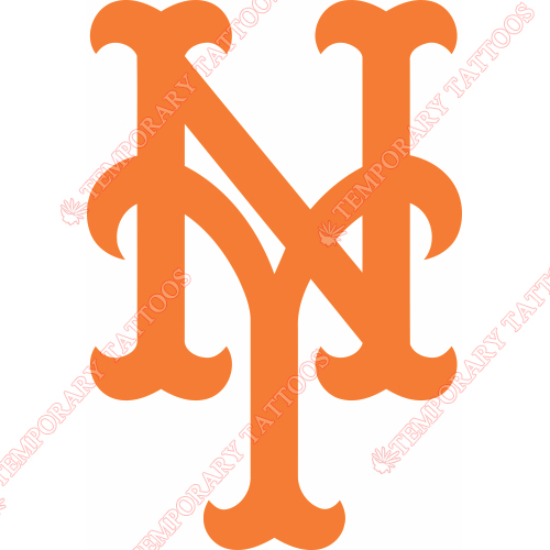 New York Mets Customize Temporary Tattoos Stickers NO.1769