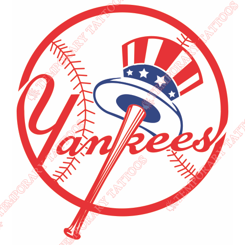 New York Yankees Customize Temporary Tattoos Stickers NO.1771