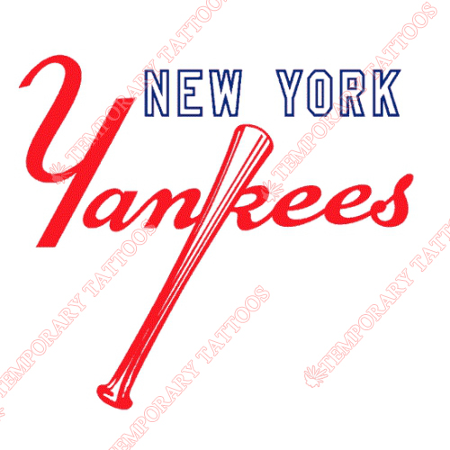 New York Yankees Customize Temporary Tattoos Stickers NO.1774