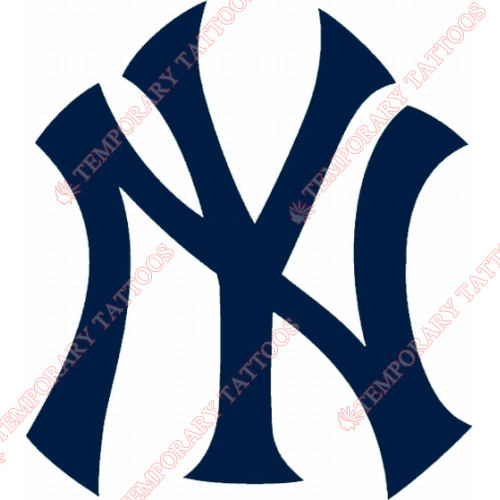 New York Yankees Customize Temporary Tattoos Stickers NO.1780