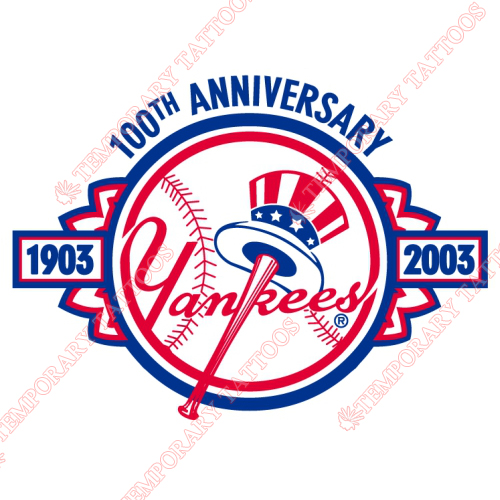 New York Yankees Customize Temporary Tattoos Stickers NO.1781