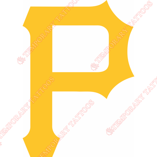 Pittsburgh Pirates P Logo Tattoo