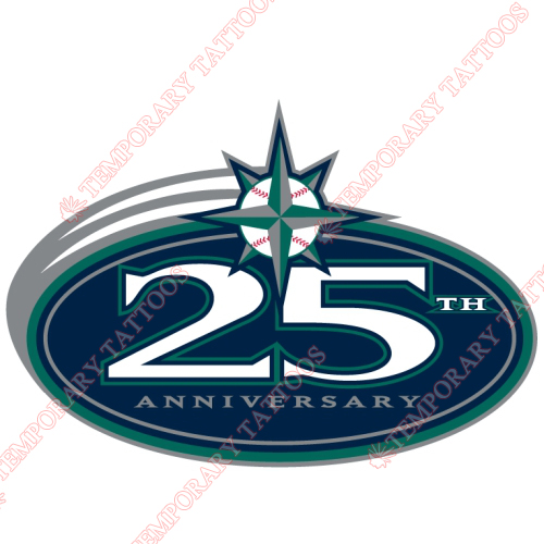 Seattle Mariners Customize Temporary Tattoos Stickers NO.1912