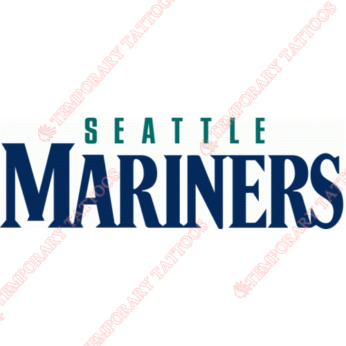 Seattle Mariners Customize Temporary Tattoos Stickers NO.1916