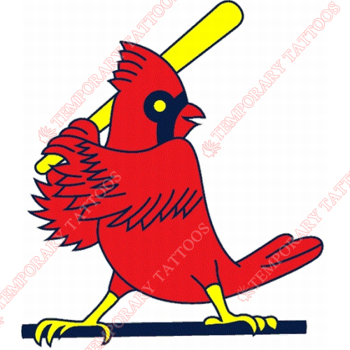 St. Louis Cardinals Customize Temporary Tattoos Stickers NO.1927