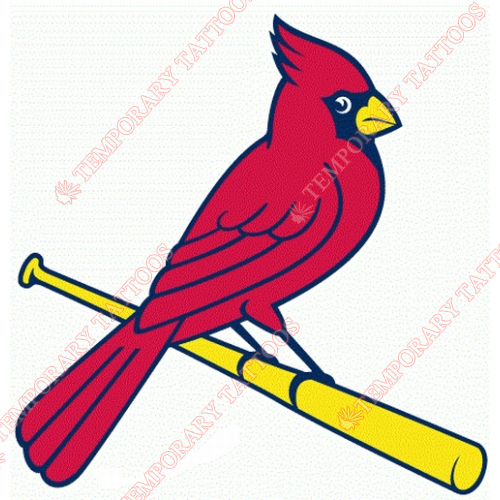 St. Louis Cardinals Customize Temporary Tattoos Stickers NO.1929