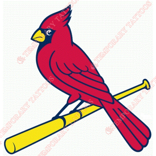 St. Louis Cardinals Customize Temporary Tattoos Stickers NO.1930
