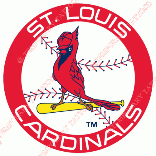 St. Louis Cardinals Customize Temporary Tattoos Stickers NO.1933