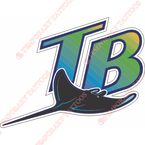 Tampa Bay Rays Customize Temporary Tattoos Stickers NO.1942