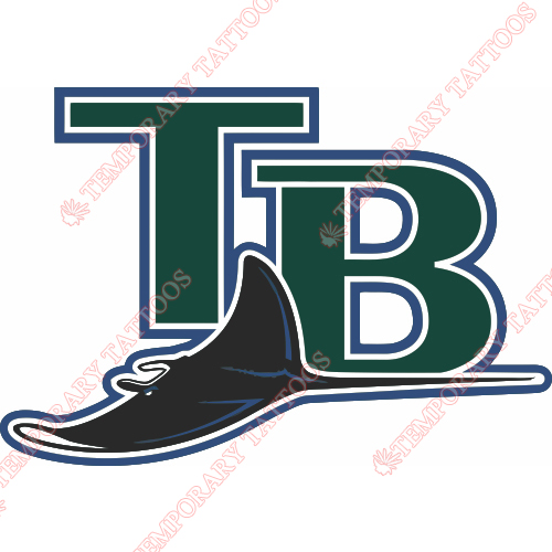 Tampa Bay Rays Customize Temporary Tattoos Stickers NO.1943