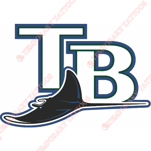Tampa Bay Rays Customize Temporary Tattoos Stickers NO.1944