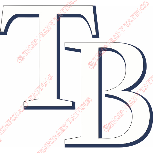 Tampa Bay Rays Customize Temporary Tattoos Stickers NO.1946