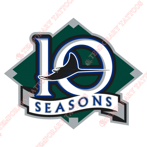 Tampa Bay Rays Customize Temporary Tattoos Stickers NO.1947