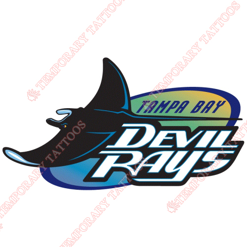 Tampa Bay Rays Customize Temporary Tattoos Stickers NO.1948