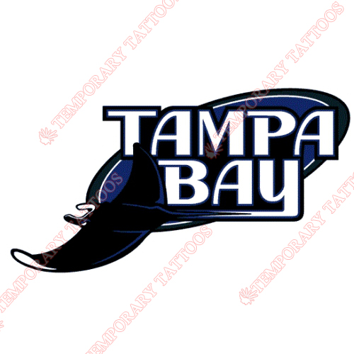 Tampa Bay Rays Customize Temporary Tattoos Stickers NO.1949