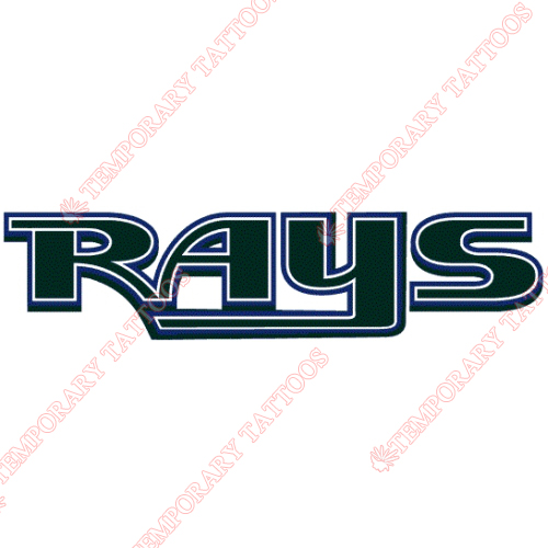 Tampa Bay Rays Customize Temporary Tattoos Stickers NO.1951