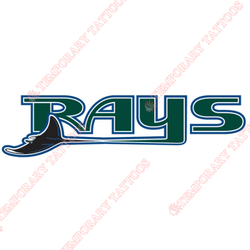 Tampa Bay Rays Customize Temporary Tattoos Stickers NO.1952