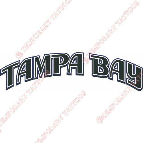 Tampa Bay Rays Customize Temporary Tattoos Stickers NO.1953