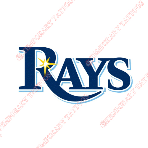 Tampa Bay Rays Customize Temporary Tattoos Stickers NO.1955