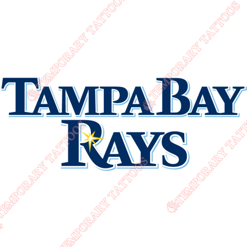 Tampa Bay Rays Customize Temporary Tattoos Stickers NO.1956