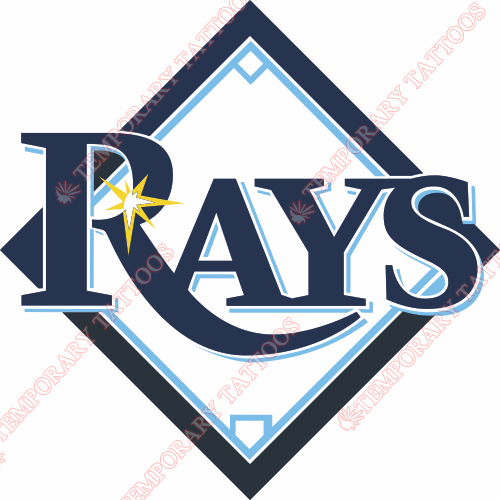 Tampa Bay Rays Customize Temporary Tattoos Stickers NO.1958