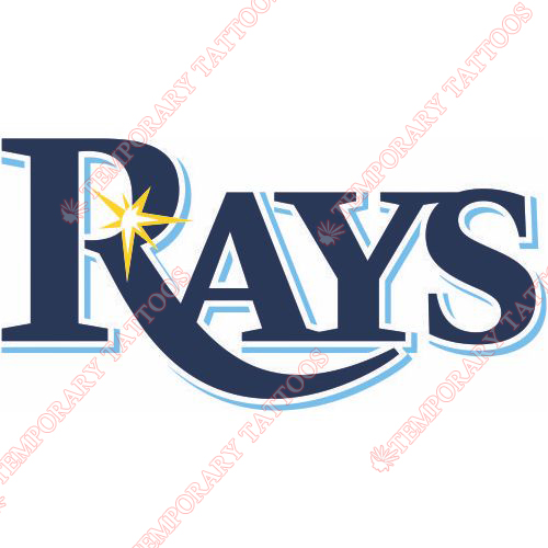 Tampa Bay Rays Customize Temporary Tattoos Stickers NO.1959