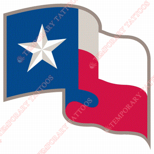 Texas Rangers Customize Temporary Tattoos Stickers NO.1962