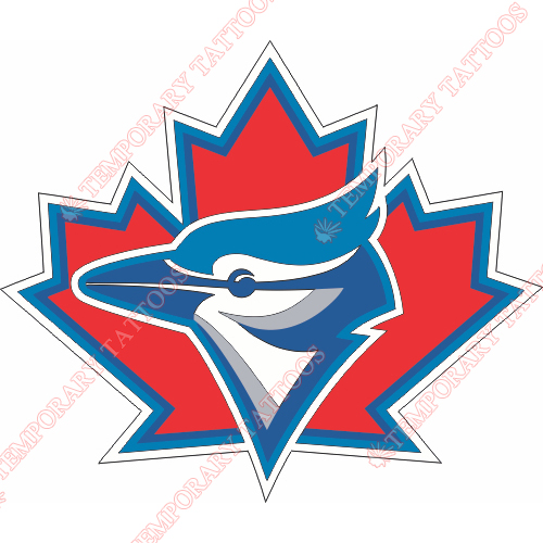 Toronto Blue Jays Customize Temporary Tattoos Stickers NO.1988