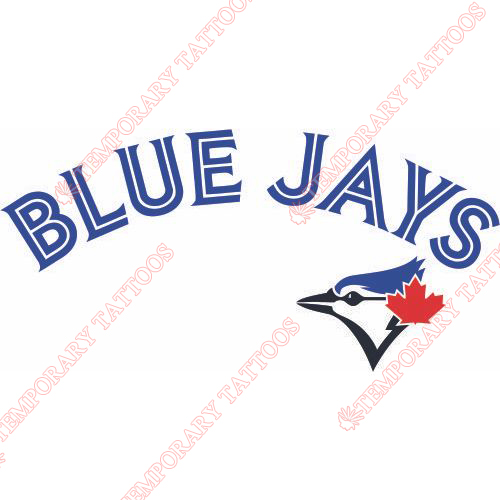 Toronto Blue Jays Customize Temporary Tattoos Stickers NO.2006